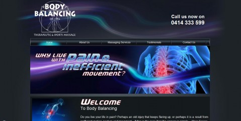 Body Balancing Massage Therapy