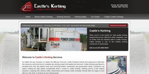 Castles Kerbing - Brisbane & Gold Coast